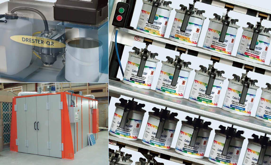 ColorSpray Equipment