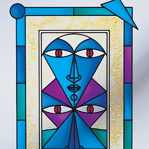 CadRam Mask Design decorative resin system
