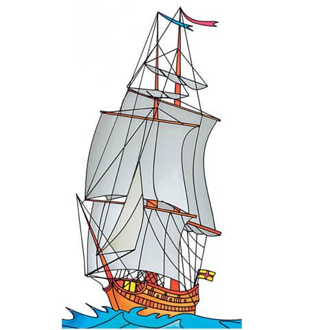 CadRam resins ship design