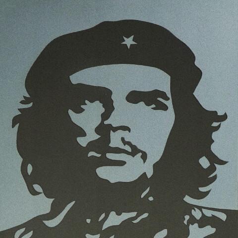 Che Guevara Sandblast