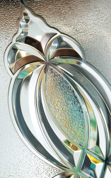 French Decorative Door Glass