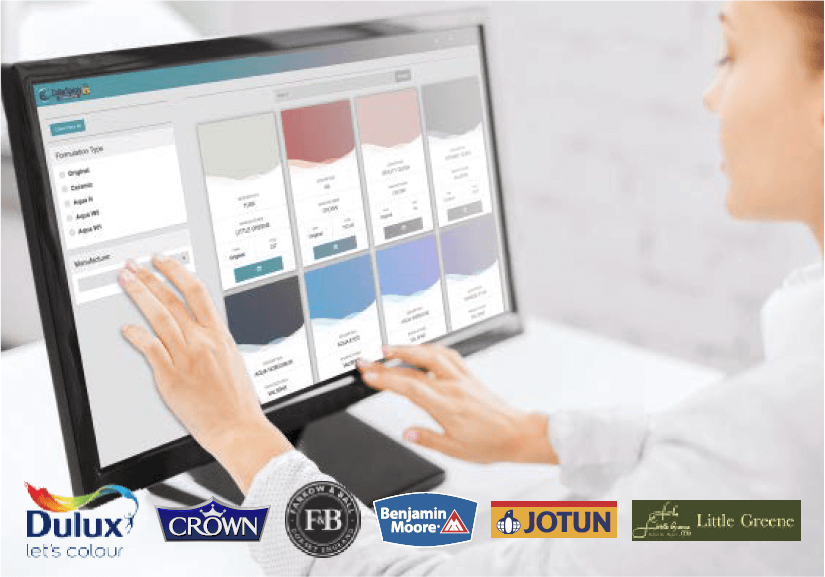 ColorSpray Formulation Software