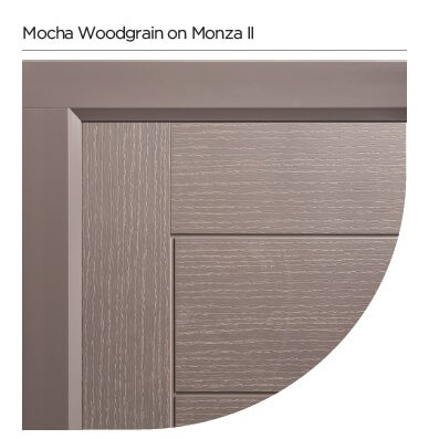Mocha door colour Colourspray Stain