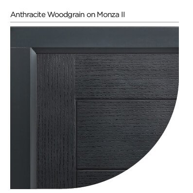 Anthracite door colour Colourspray Stain